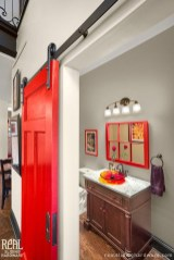 Functionally Decorated Contemporary Powder Rooms02