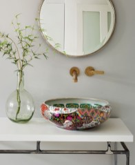Functionally Decorated Contemporary Powder Rooms03