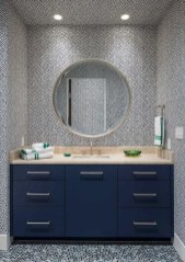 Functionally Decorated Contemporary Powder Rooms04
