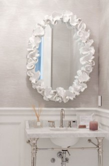 Functionally Decorated Contemporary Powder Rooms08