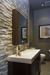 Functionally Decorated Contemporary Powder Rooms26