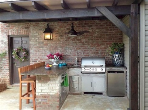 Inexpensive Renovation Tips Ideas For Outdoor Kitchen03