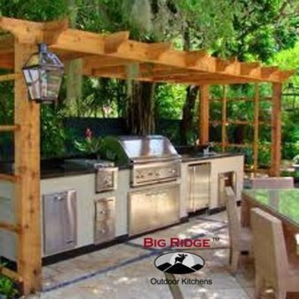 Inexpensive Renovation Tips Ideas For Outdoor Kitchen07