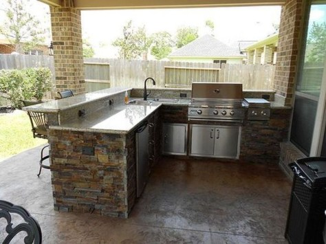 Inexpensive Renovation Tips Ideas For Outdoor Kitchen11