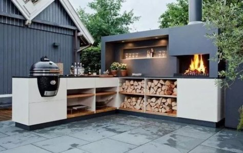 Inexpensive Renovation Tips Ideas For Outdoor Kitchen12