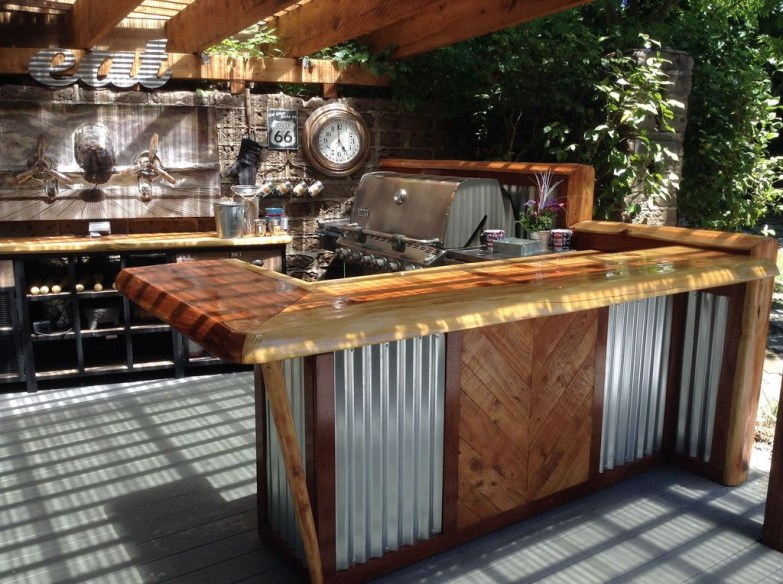 Inexpensive Renovation Tips Ideas For Outdoor Kitchen14
