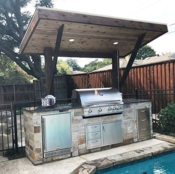 Inexpensive Renovation Tips Ideas For Outdoor Kitchen15