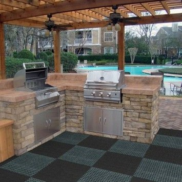 Inexpensive Renovation Tips Ideas For Outdoor Kitchen17