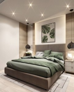 Latest Wall Bedroom Design Ideas That Unique40
