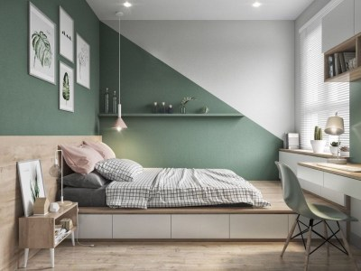Latest Wall Bedroom Design Ideas That Unique43