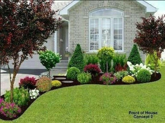 Newest Frontyard Design Ideas On A Budget20