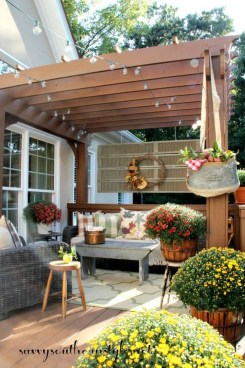 Outstanding Patio Yard Furniture Ideas For Fall To Try35
