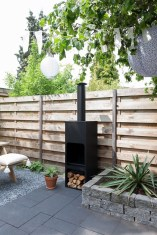 Relaxing Outdoor Fireplace Designs For Your Garden41