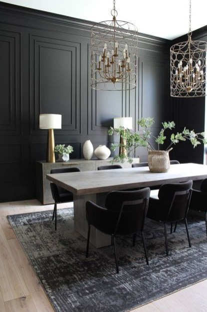 Simple But Elegant Dining Room Ideas24