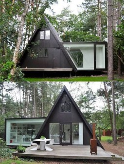 Unforgettable Designs Of A Frame Houses34