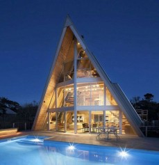 Unforgettable Designs Of A Frame Houses38