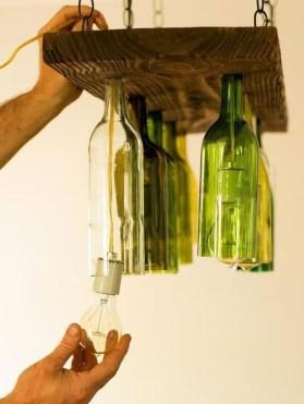 Amazing Diy Bottle Lamp Ideas07