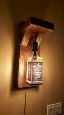 Amazing Diy Bottle Lamp Ideas09