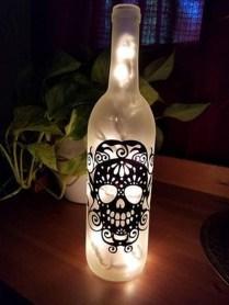 Amazing Diy Bottle Lamp Ideas29