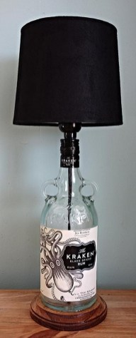 Amazing Diy Bottle Lamp Ideas42