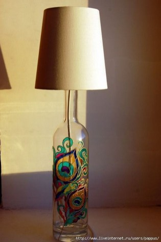Amazing Diy Bottle Lamp Ideas45