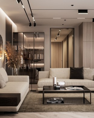 Contemporary Living Room Interior Designs27