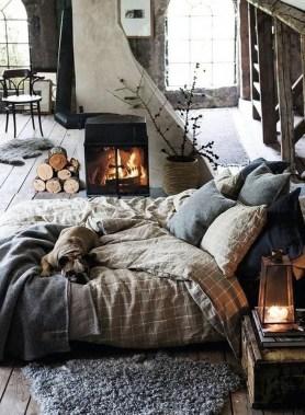 Cozy Rustic Bedroom Interior Designs For This Winter18
