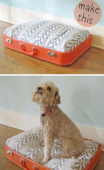 Diy Pet Bed Ideas37