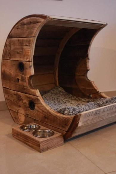 Diy Pet Bed Ideas38