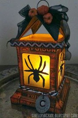 Gorgeous Diy Luminaries To Spice Up Your Halloween Party24