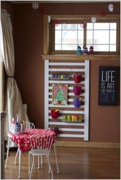 Inspirational Ways How To Repurpose Old Babys Cribs16