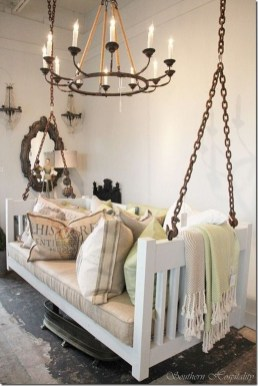 Inspirational Ways How To Repurpose Old Babys Cribs36