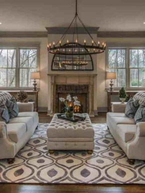 Mesmerizing Living Room Designs For Any Home Style26