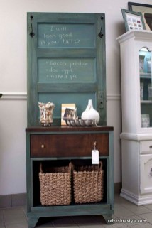 Simple And Creative Ideas Of How To Reuse Old Doors04