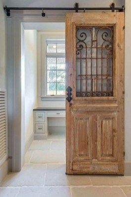 Simple And Creative Ideas Of How To Reuse Old Doors15