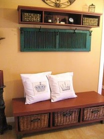 Simple And Creative Ideas Of How To Reuse Old Doors28