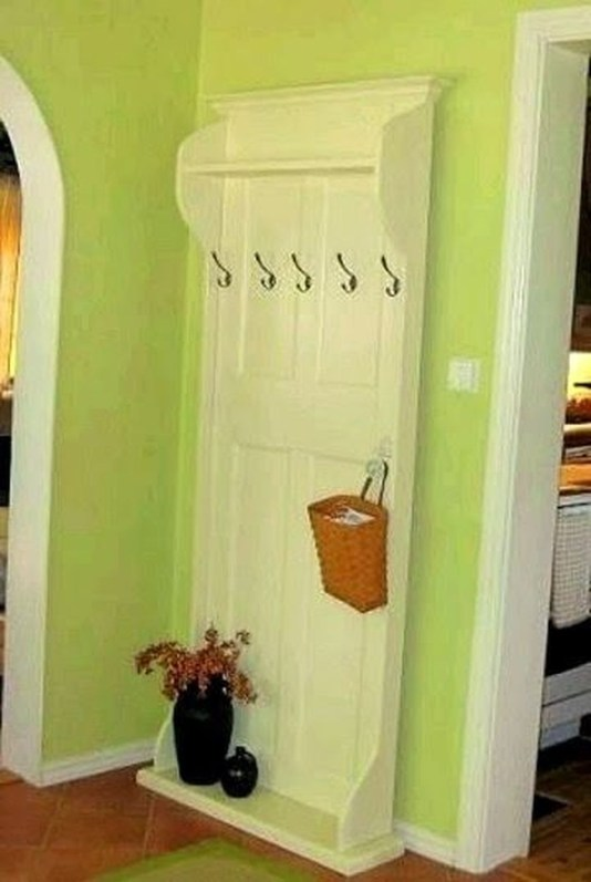 Simple And Creative Ideas Of How To Reuse Old Doors48
