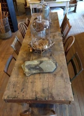 Warm Cozy Rustic Dining Room Designs For Your Cabin06