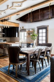 Warm Cozy Rustic Dining Room Designs For Your Cabin10