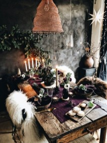 Warm Cozy Rustic Dining Room Designs For Your Cabin13