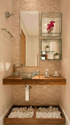 Amazing Small Apartment Bathroom Decoration You Can Try06
