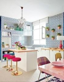 Beautifful And Cozy Colourfull Kithcen Ideas20