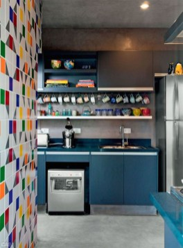 Beautifful And Cozy Colourfull Kithcen Ideas24