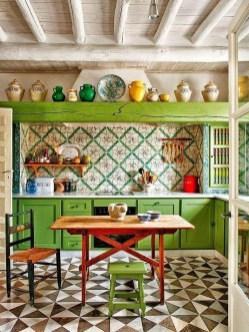 Beautifful And Cozy Colourfull Kithcen Ideas26