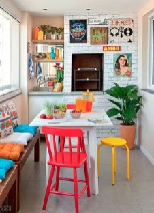 Beautifful And Cozy Colourfull Kithcen Ideas30