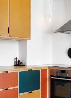 Beautifful And Cozy Colourfull Kithcen Ideas37