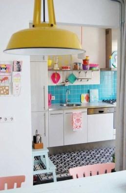 Beautifful And Cozy Colourfull Kithcen Ideas42