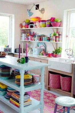 Beautifful And Cozy Colourfull Kithcen Ideas44