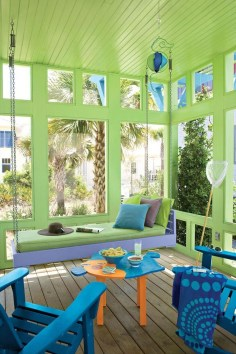 Beautiful And Colorful Porch Design06