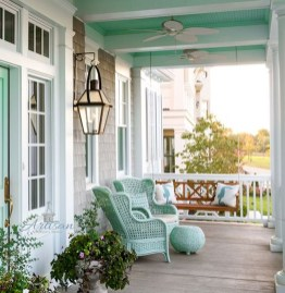 Beautiful And Colorful Porch Design33